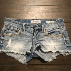 Day trip  LEO cut off shorts Size 27